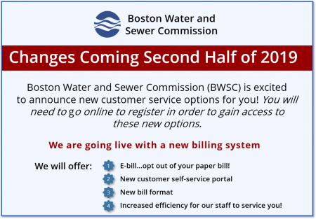 Highlights from BWSC's new billing system flyer