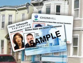 Sample ID cards; always ask for ID when someone asks to enter your home